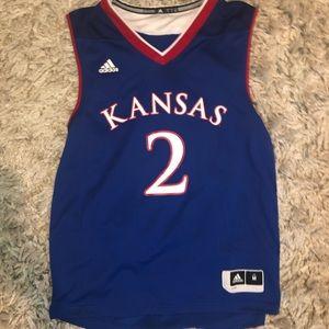 KANSAS BASKETBALL jersey!! #2, barely worn